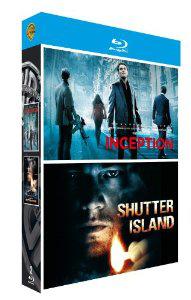 Coffret Blu-Ray Inception + Shutter Island