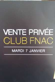 vente privee pour adherent carte club