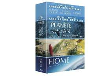 Coffret 3 Blu Ray  Yann Arthus-Bertrand - Planète Océan + La soif du monde + Home