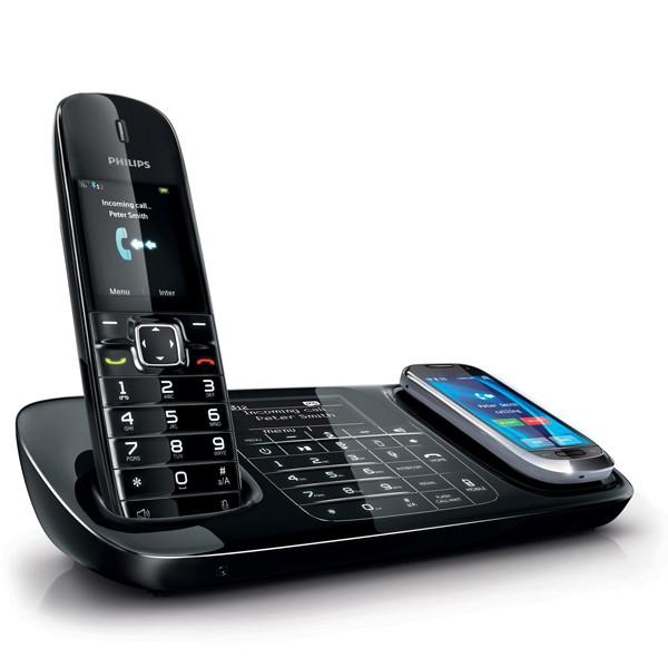 Téléphone sans fil Philips Smartlink SE8881B/38 avec répondeur