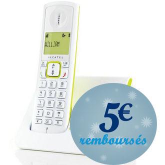 Telephone fixe Alcatel Versatis F230 (Avec ODR 5€)