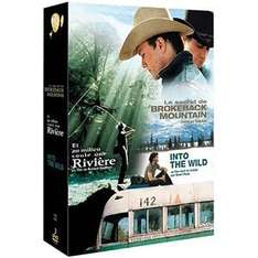 Coffret 3 DVD : Into the Wild + Le secret de Brokeback Mountain + Et au milieu coule une rivière