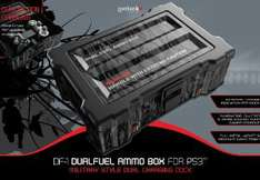 Gioteck Gioteck DF-1 Dualfuel Ammo Box : Dual dock 2-in-1 système d'alimentation pour manette ps3
