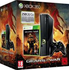 Console Xbox 360 250Go + Gears of  War Judgment