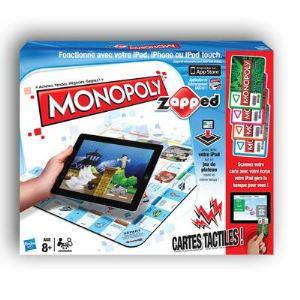 Jeu de société Monopoly Zapped (Jeu via tablette)