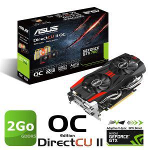 Asus GTX760 2Go GDDR5 OC DirectCU2 + assassins c4 et spinter cell blacklist