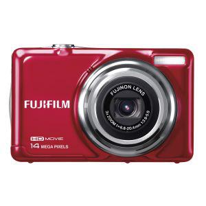 Appareil photo Fujifilm JV500 Rouge - Compact 14MP Zoom 3x