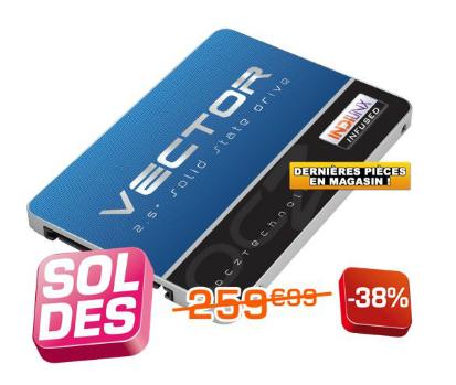 SSD OCZ Vector Series 2.5  256Go Sata III