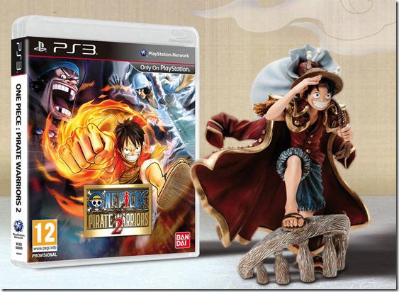 One Piece Pirate Warriors 2 - édition collector sur PS3 (Avec figurine)