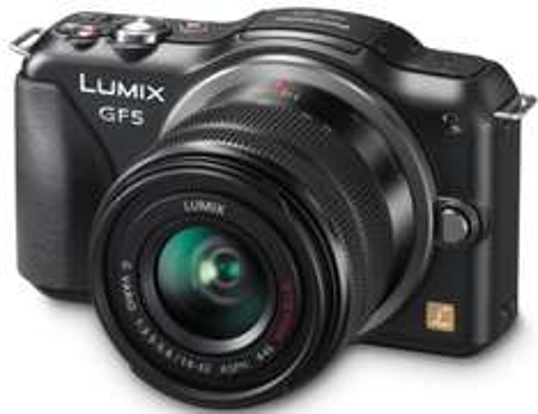 Appareil photo Panasonic Lumix DMC-GF5KAEF-K + Obj. Lumix G Vario MEGA O.I.S. 14 - 42 mm f/3.5 - 5.6 ASPH
