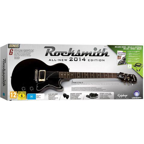 Rocksmith 2014 + Guitare - sur Xbox 360