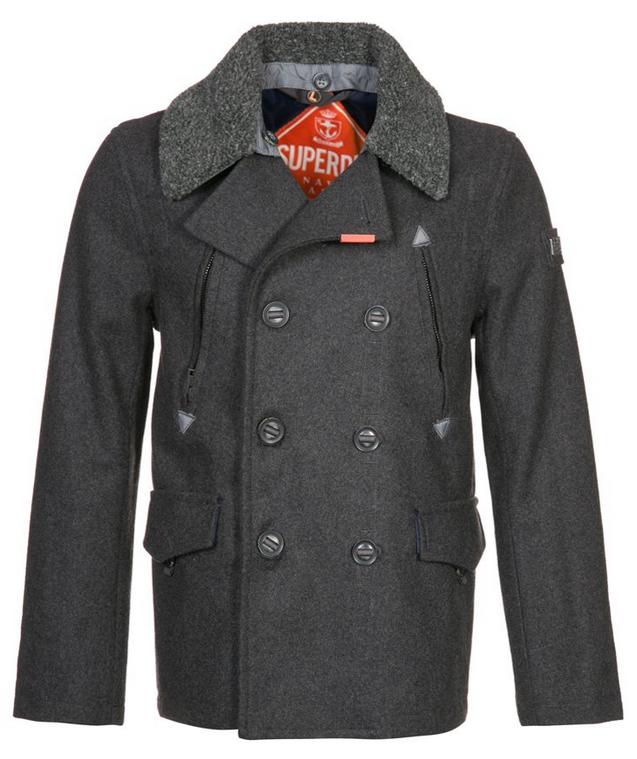 Soldes sur les vêtements Superdry, jusqu'à -70%. Ex : Caban Superdry Merchant (Taille S à XXL)