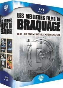 Coffret 4 Blu-Ray : Heat + The Town + Point Break + Opération Espadon