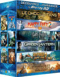 Coffret Blu-Ray 3D 6 films