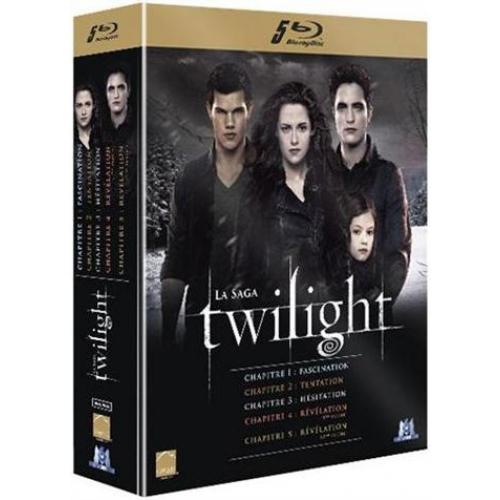Coffret Blu-ray Intégrale de Twilight