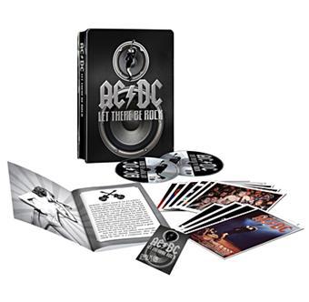 Coffret DVD Metal AC/DC - Let There Be Rock