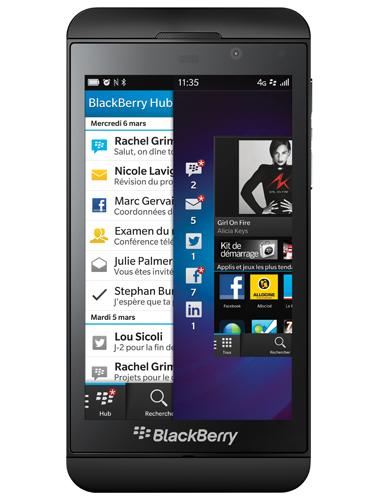 Smartphone Blackberry Z10 - Noir