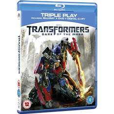 Transformers 3: Dark Of The Moon - Double Play (Blu-ray + DVD)