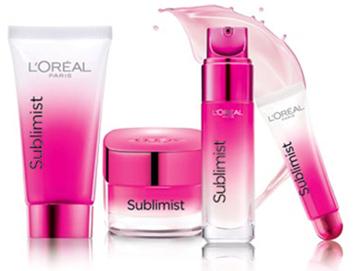 2 produits de la gamme L'Oréal Paris Sublimist