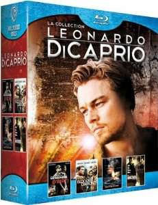 Collection Leonardo Di Caprio 4 Films [Blu-ray]