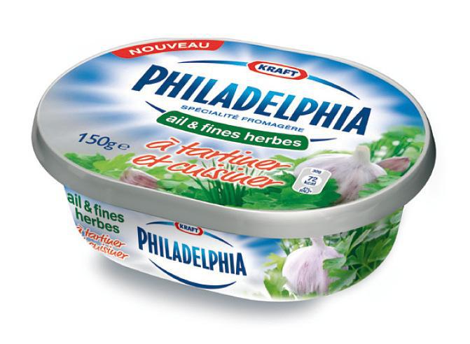 2 x Fromage Philadelphia 150g (50% remise fidélité)