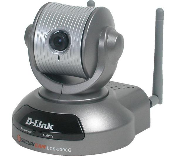 Caméra réseau WiFi/Ethernet D-Link DCS-5300G