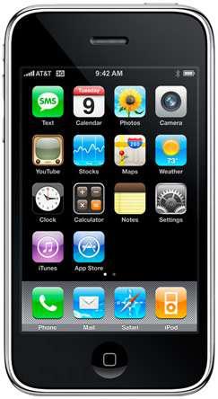 Smartphone Apple iPhone 3GS 8 Go - Reconditionné