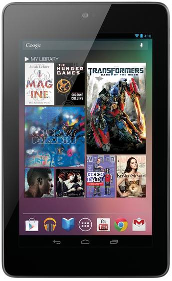 Tablette Google Nexus 7 32Go Wi-Fi (2012)