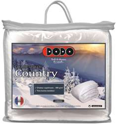 Couette chaude 400g Dodo Country 220x240cm