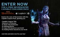 "Pack ""Capable Conjurer"" gratuit pour le jeu Neverwinter [Game Booster]"