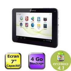 "Tablette 7"" Memup, Dual Core 1,5Ghz, 1 Go RAM, Android 4.1"