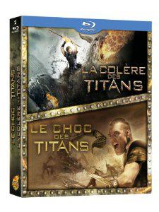 Coffret Blu-ray : Choc des Titans + Colère des Titans