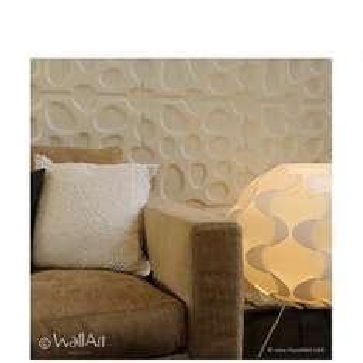 Revêtement mural WallArt - 12 panneaux muraux 3D motif geometrique