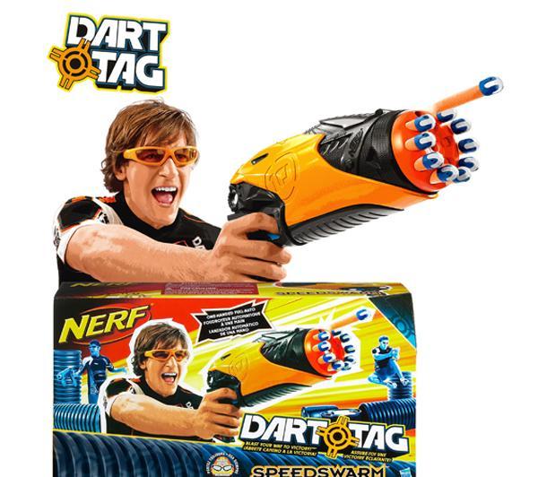 2 Pistolets semi-automatiques NERF Dart Tag SpeedSwarm (avec ODR) (autres références à très bon prix également, voir description)
