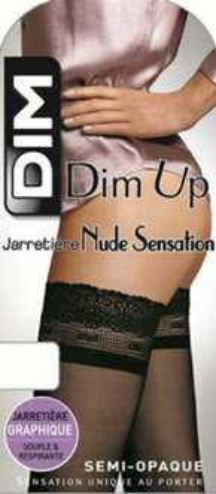 Bas autofixant Dim Up Nude Sensation Semi Opaque