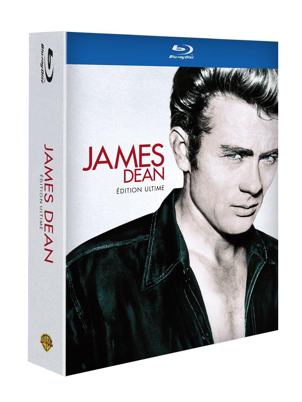 coffret James Dean 3 blu-ray : géant, la fureur de vivre, à l'est d'Eden