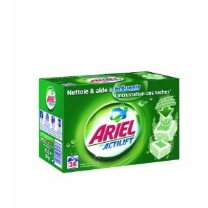 1 lessive achetée = 1 lessive offerte ! (Lessive Ariel et Dash 2 en 1) -  A partir de
