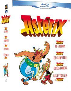 Coffret 4 Blu Ray Asterix