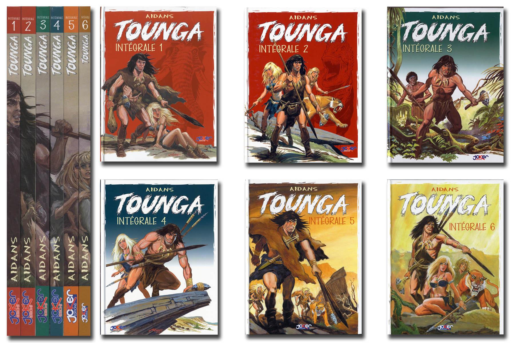 Livre BD - Tounga : Intégrale 1 à 6 (11,99€ de port)