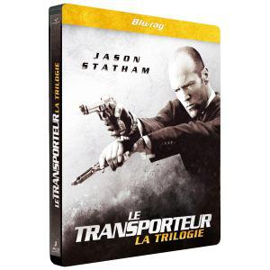 Coffret Blu-ray Steelbook Intégrale – Le Transporteur