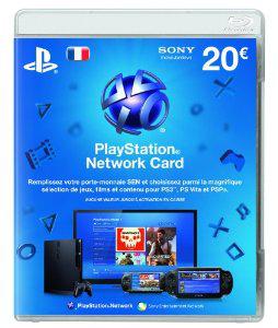 Sony PlayStation Network LiveCard 20€ (PS4/PS3/PS Vita)