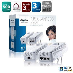Starter kit Devolo CPL dLAN 500 AVtriple+