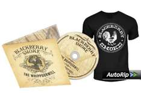 [Précommande] Blackberry Smoke - The Whippoorwill  - Pack CD & T-Shirt (M, L et XL)