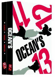 Coffret DVD Trilogie Ocean's 11 + 12 + 13