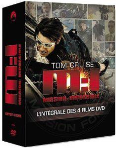 Coffret DVD Mission Impossible : La quadrilogie