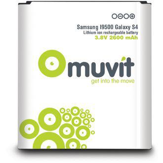Batterie Muvit pour Samsung Galaxy S4 - 2100mAh
