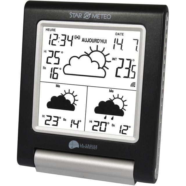 Station météo La Crosse Technology (7,97€ via Buyster) sinon
