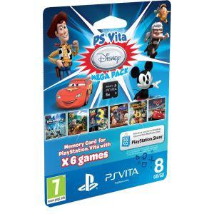 PS Vita : Carte mémoire 8Go + 6 jeux disney