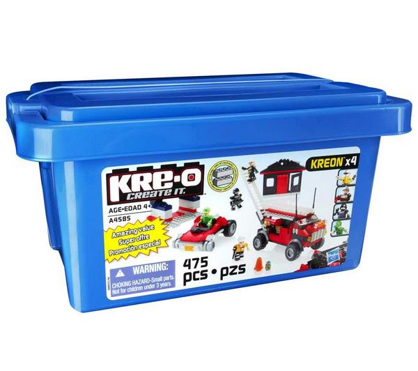 Baril 475 briques Hasbro Kre-o Transformers