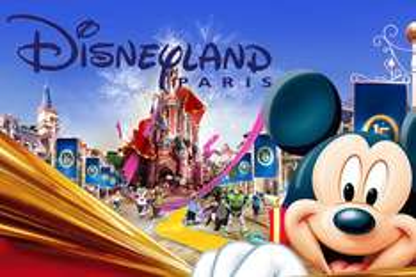 Billeterie Disneyland Paris 22 et 29 mars 1 adulte + 1 enfant